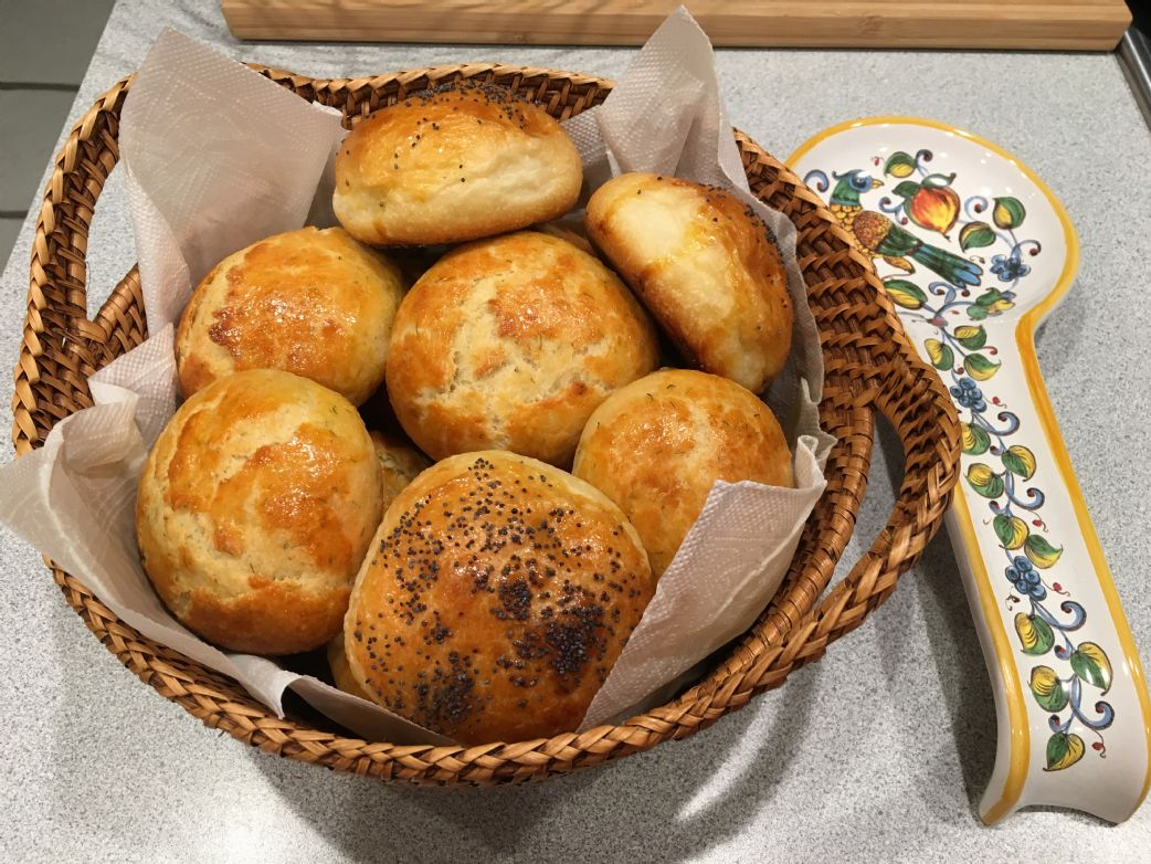 Dill and Cheese Turkish Bread (Acma)