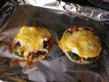 Donna's Flatbread Breakfast Pizza