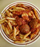 Doug's Turkey/Beef Meatballs: 2 meatballs = 1 serving