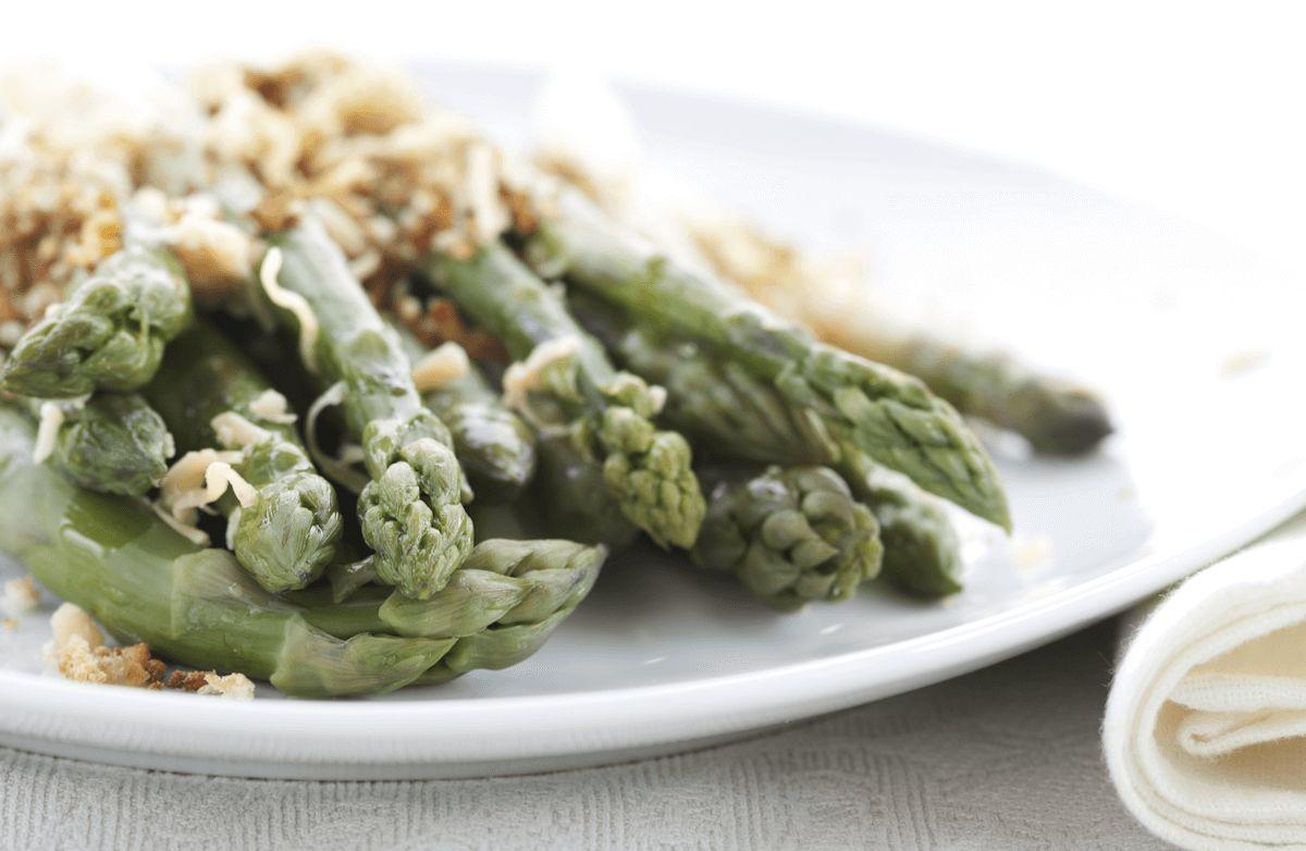 Easy Asparagus Au Gratin