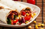 Easy Bean & Veggie Burritos