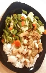 Easy Chicken and Rice Dish