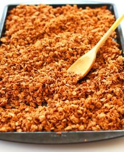 Easy Chocolate Peanut Granola Cereal - Diabetic Friendly