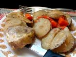 Easy Crock Pot Pork Chops 4 servings