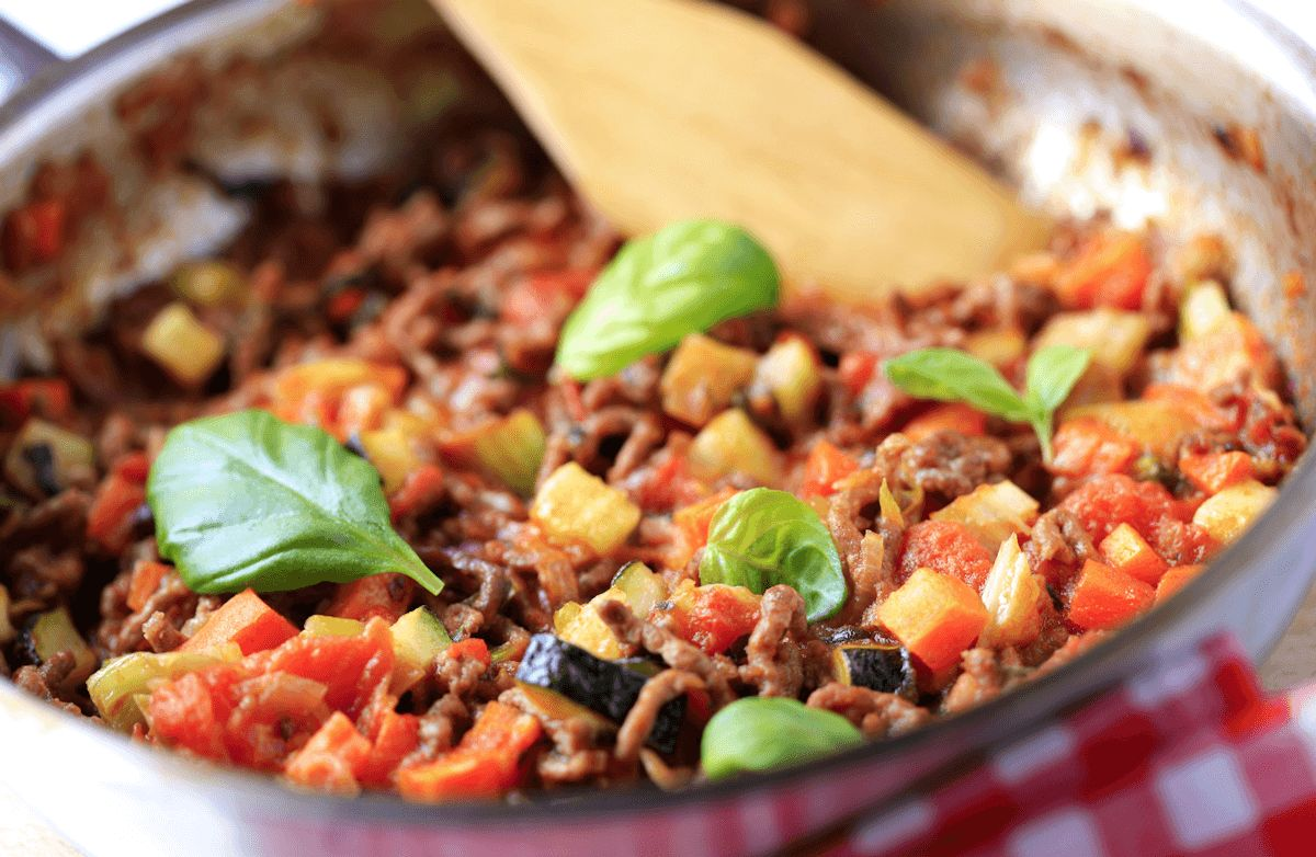 Easy Ground Beef Skillet