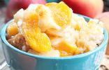Easy Low-Fat Individual Peach Cobblers