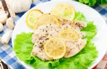 Easy Slow Cooker Lemony Garlic Chicken Breast