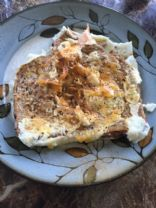 Egg Whites in Nest