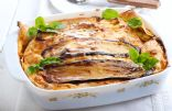 Eggplant Lasagna with Ground Turkey
