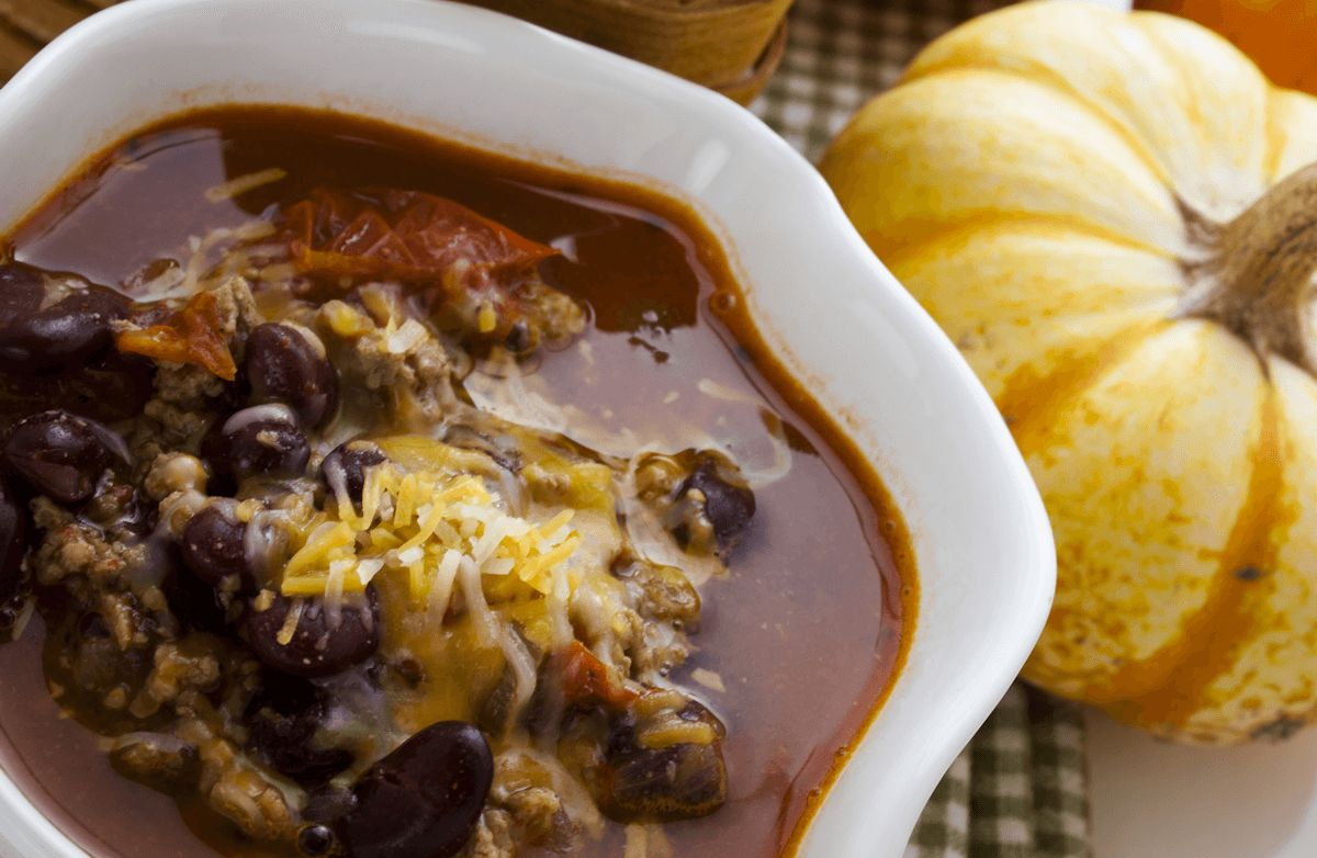 Emily's Butternut Squash and Black Bean Chili