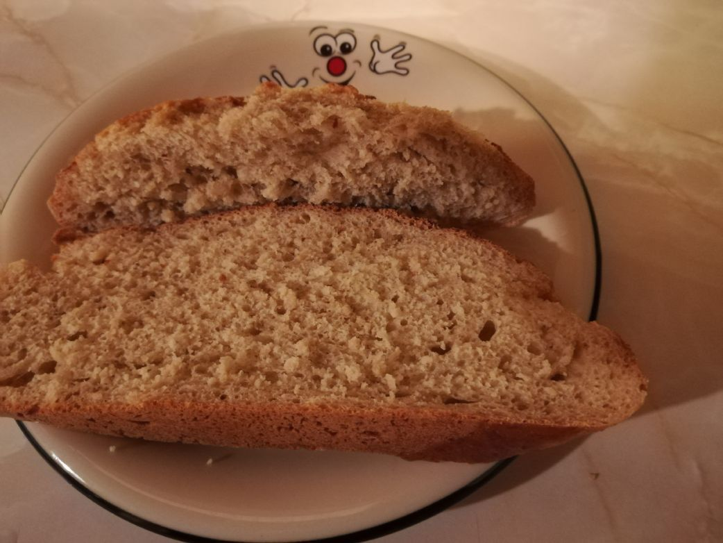 Extremely Low-fat Oatmeal Bread