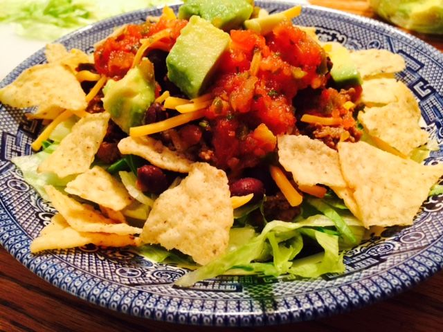 Family Friendly Taco Salad