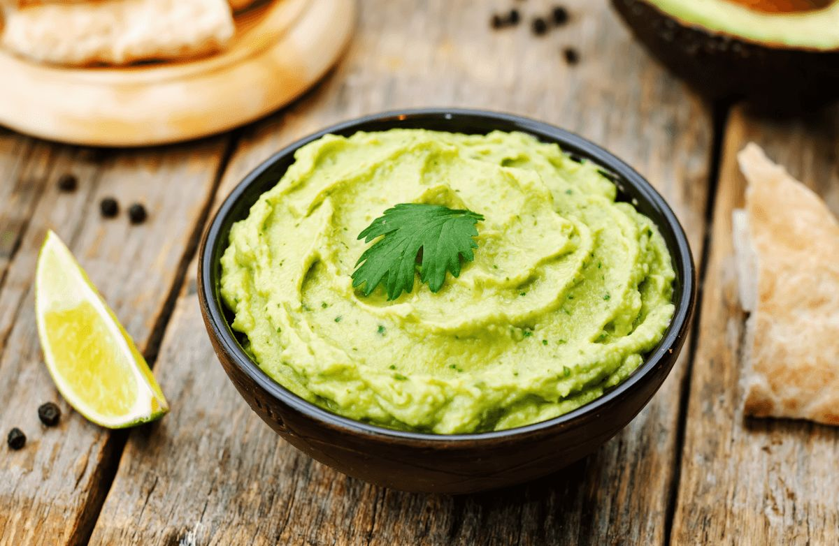 Fantastic Hummus Guacamole Dip