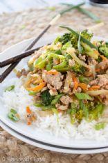 Fashionable Foods Ground Turkey & Broccoli Stir Fry