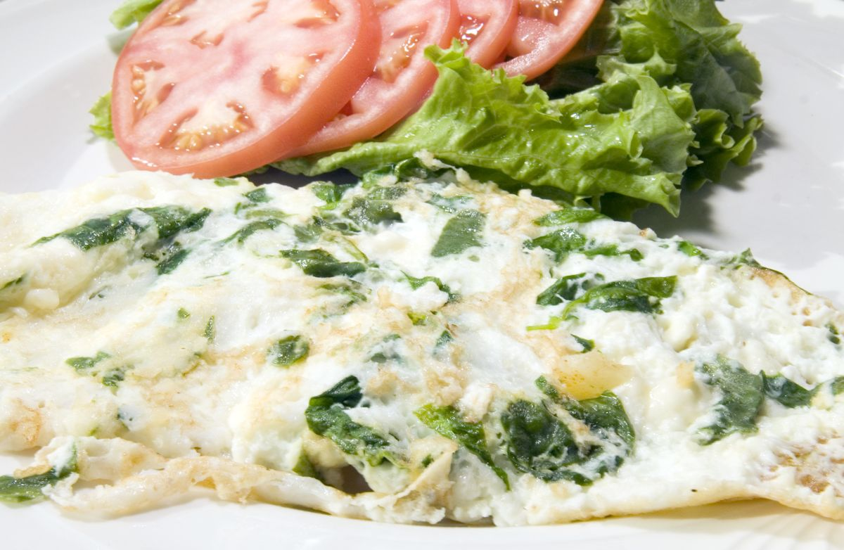 Feta & Spinach Egg Whites