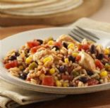 Fiesta Skillet Pork and Rice