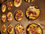 Fixate Sweet potato, egg and vegi breakfast muffins