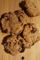 Flax Cranberry Nut Cookies (gluten free)