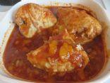 Flossie's Chicken with Mandarin Orange Sauce