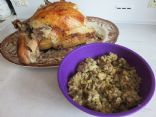 Flossie's Bread Stuffing (1/4 cup serving)