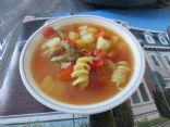 Flossie's Turkey Vegetable Soup (1 cup serving)