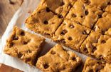 Flourless Chocolate Chip Chickpea Blondies