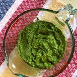 Fresh Basil Pesto, Traditional Italian Homemade