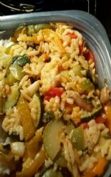 Fresh Veggie and Rice Stir Fry