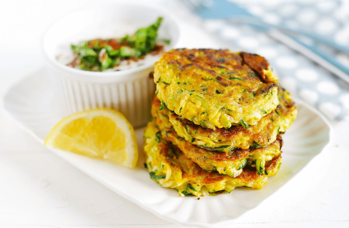 Fried Zucchini Patties