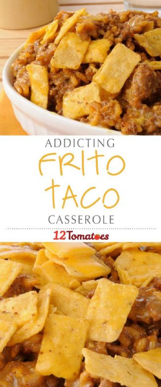 Frito Taco Casserole Recipe Sparkrecipes