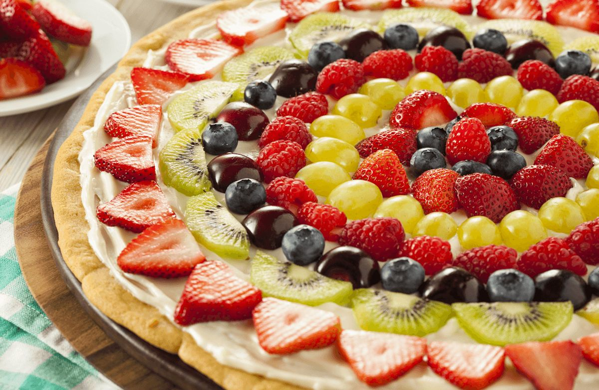 how to make fruit pizza fruit drinks