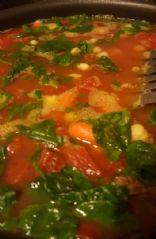 Garbanzo Tuscan Soup
