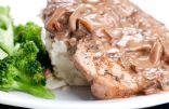 Garlic & Mushroom Pork Loin Chops