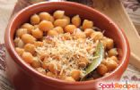 Garlic & Parmesan Roasted Chickpeas 1 Serving=2/3 cup