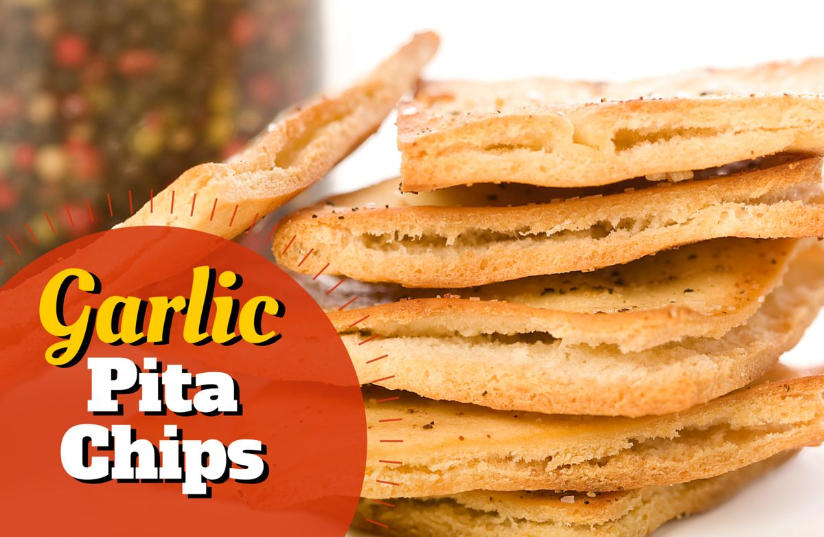 Garlic Pita Chips RECIPE