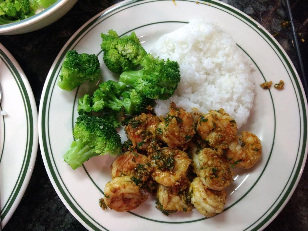 Barb and Ed's Garlic Seared Shrimp w/Smoked Paprika