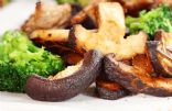 Garlic-Spiked Broccoli and Mushrooms with Rosemary
