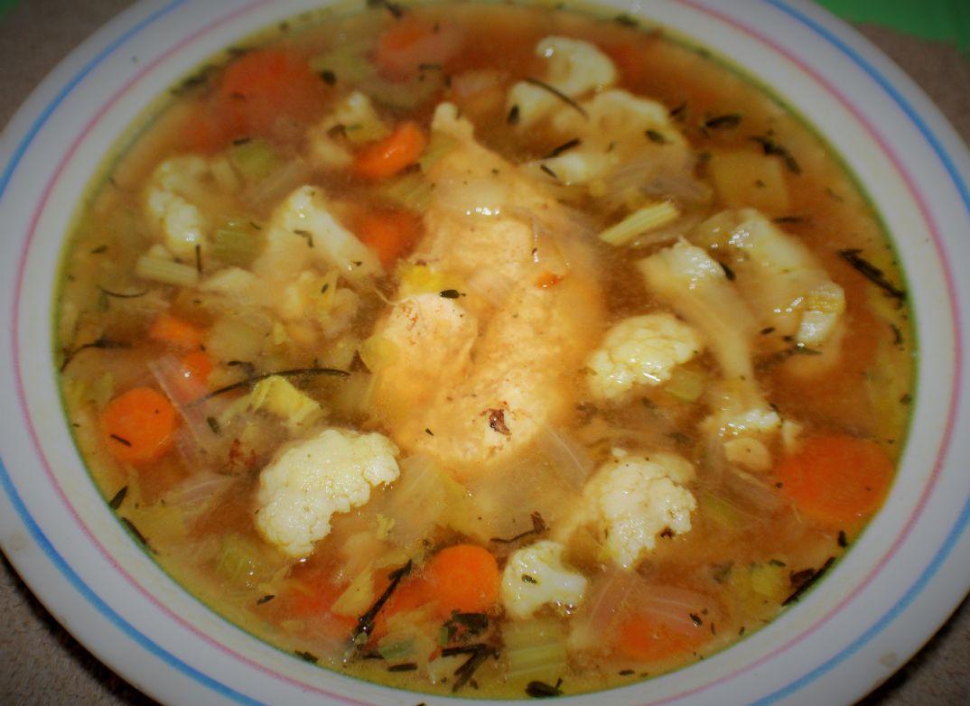 Gluten - Free Chicken Vegetable Soup
