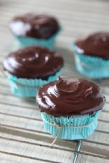 Gluten Free Devil's Food Cupcakes