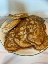 Gluten Free Sausage pancakes