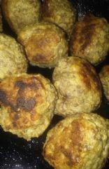 Gluten Free Sirloin Meatballs