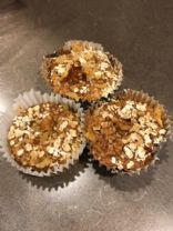 Gluten free, Low Carb  Oatmeal muffins