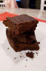 Gluten free, dairy free, vegan brownies