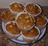 Graham Walnut Muffins