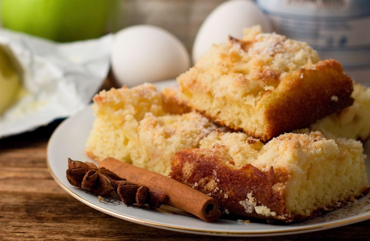 Grandma's Crumb Cake