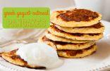 Greek Yogurt-Oatmeal Pancakes