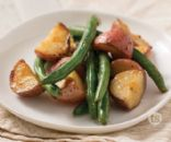 Grilled Green Beans & Potatoes Recipe