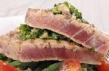 Grilled Mediteranean Ahi Tuna
