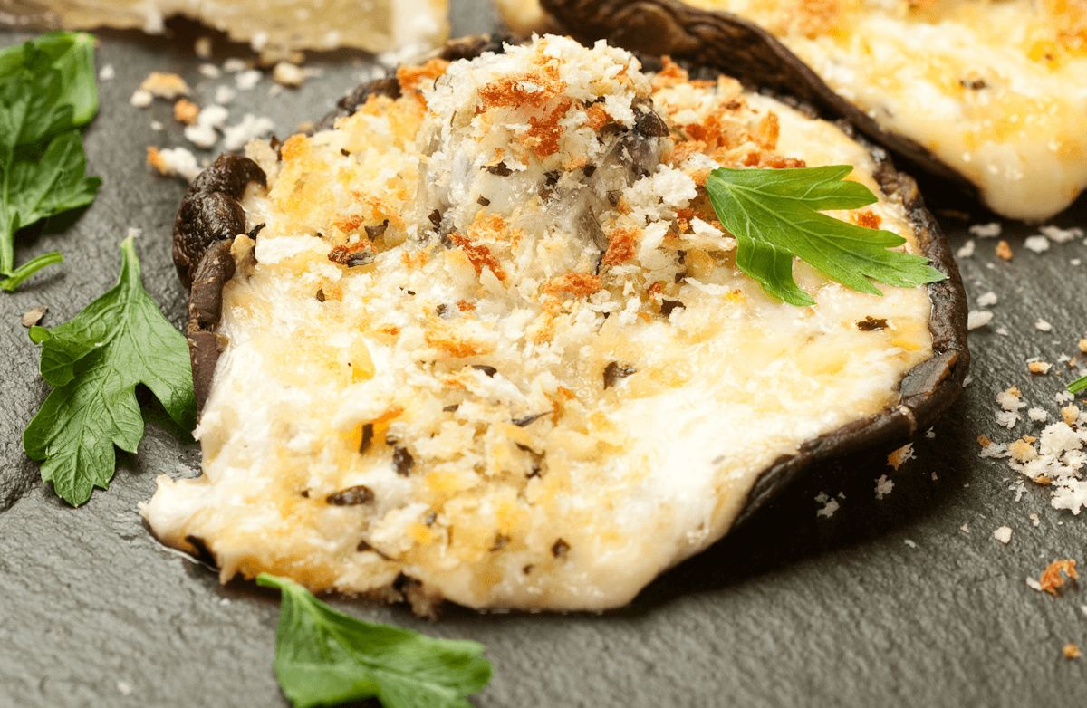 Grilled Portobello Mushrooms with Herbs