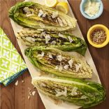 Grilled Romaine Salad with Lemon-Mustard Vinaigrette